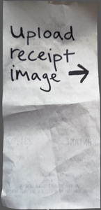 Upload Receipt Image